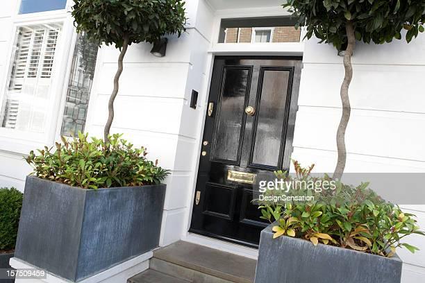 Front Door to Mews House