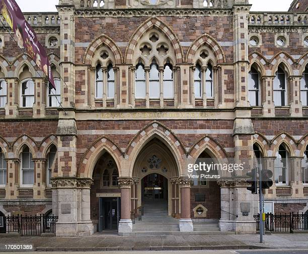 Front elevation of entrance on Queen Street RAMM The Royal Albert Memorial Museum Museum Europe United Kingdom Devon Allies and Morrison