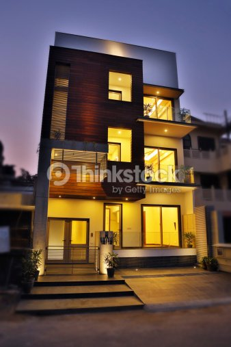 Front Elevation Lights : Front elevation stock photo thinkstock
