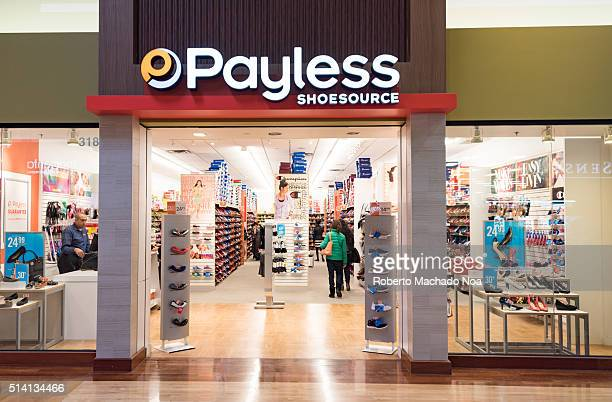 Front entrance of Payless shoe store Payless ShoeSource is an American discount footwear retailer headquartered in Topeka Kansas