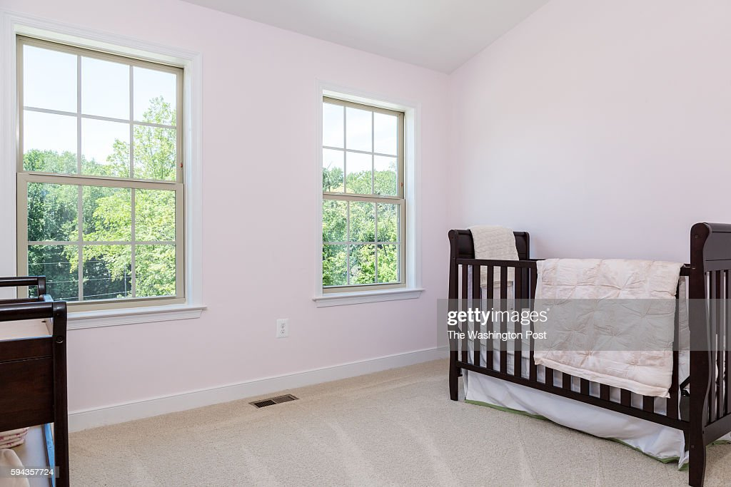 Front Left Bedroom in the Edinburgh Model at Admirals Ridge on August 11 2016 in Arnold Maryland