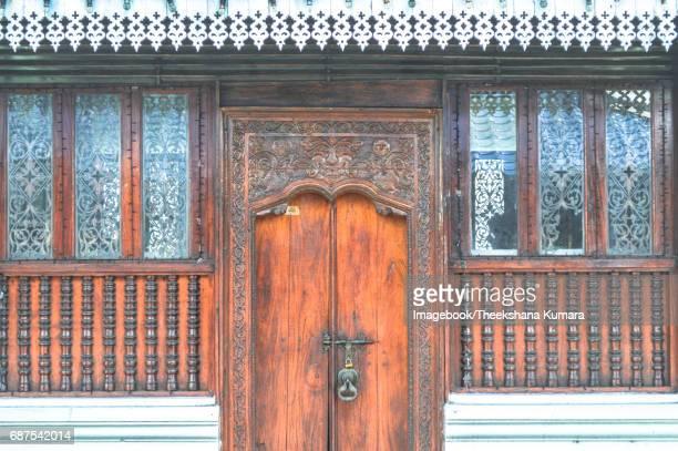 Front of Door Seema Malaka Gangaramaya Temple