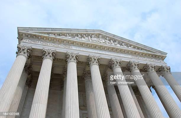 Vorderseite der Supreme Court Gebäude