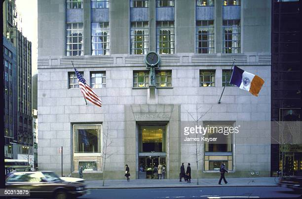 Front of Tiffany Co building which was recently bought by Daiichi America for $94 Million