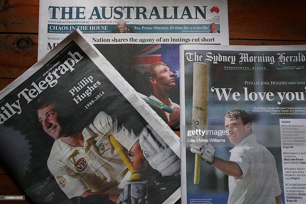 Australians React To The Death Of Phillip Hughes