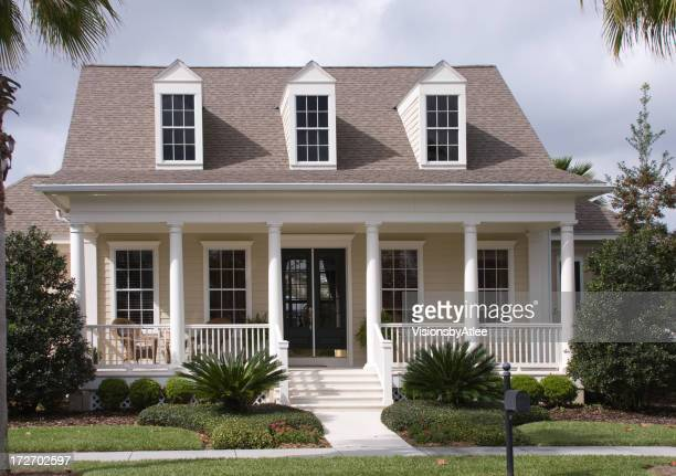 Dormer stock photos and pictures getty images for Houses with dormers and front porch