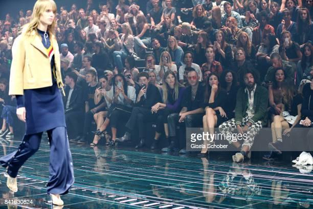 Front row from left Tim Labenda Jesper Munk Lena MeyerLandrut Lary Poppins Sang Woo Kim Veronika Heilbrunner Marc Goehring Julia Restoin Roitfeld and...