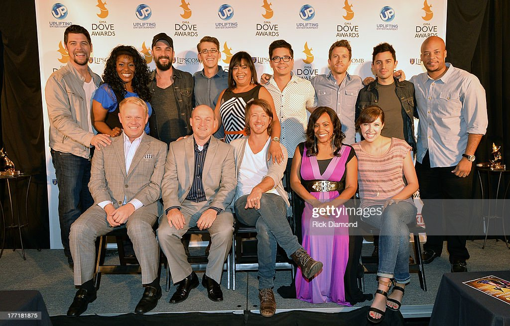 Front Row Jamie Dailey Darrin Vincent of Dailey Vincent Mike Donehey of Tenth Avenue North Radio Personality Lady Shaunte' Singer/Songwriter...