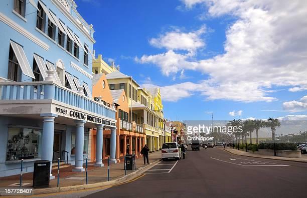 Front Street in Bermuda