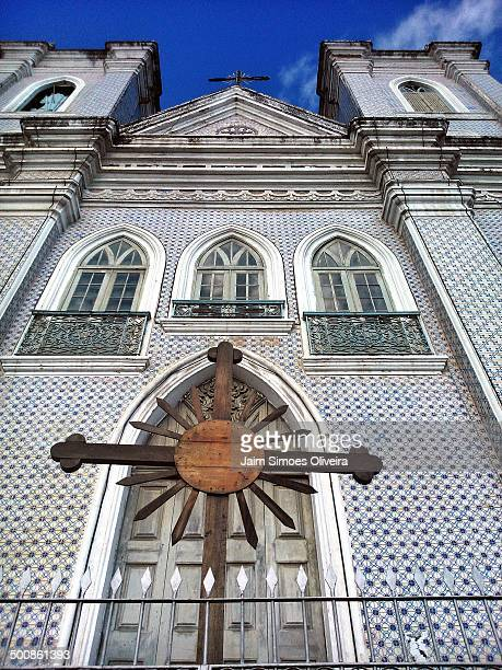 Front View of Church Bom Jesus dos Martírios