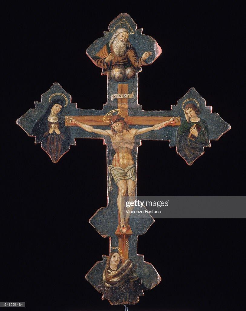 Front View of Crucifix by Nicolo del Priore