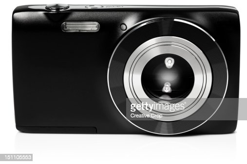 Front view of digital compact camera : Photo