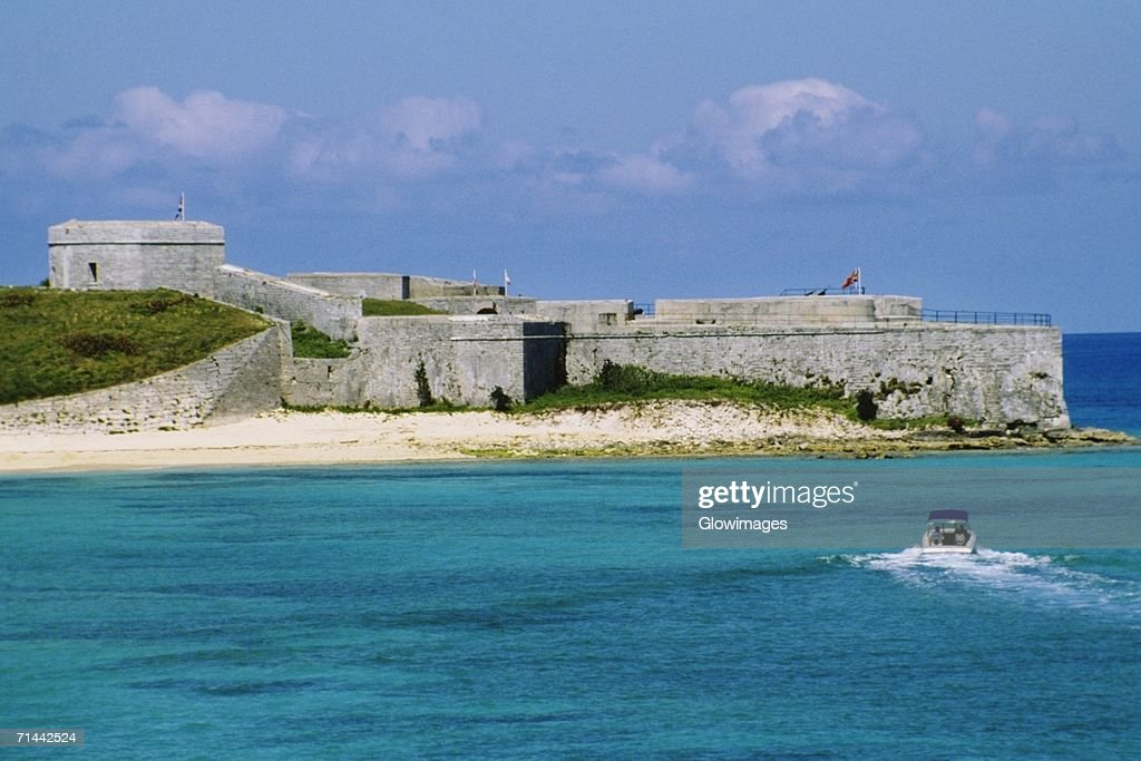 Front view of Fort St CatherineNR., St Georges, Bermuda
