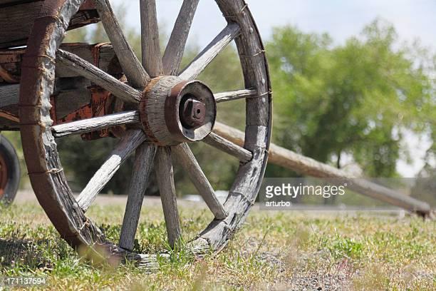 Vue de face de l'historique Far west Break dans l'Utah, États-Unis