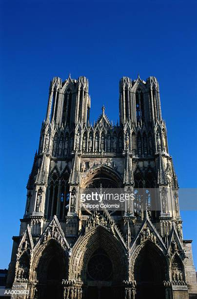 Front View of Reims Cathedral