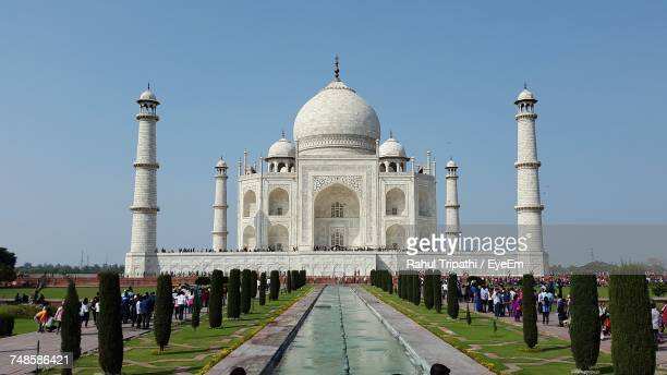 Front View Of Taj Mahal