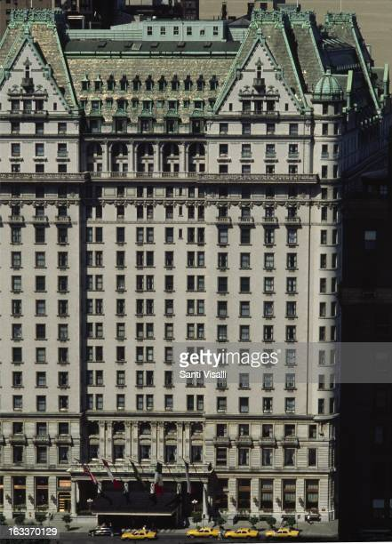 Front view of the Plaza Hotel by Henry J Hardenbergh 1907 on June 5 1979 in New York New York