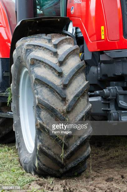 Front wheel on a massey Ferguson tractor