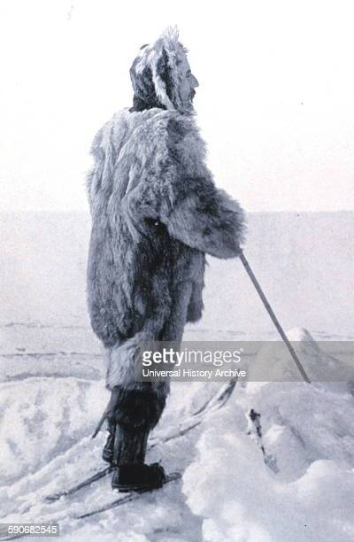 Frontispiece portrait of Roald Amundsen 18721928 In 'The South Pole' Volume II Amundsen was the first to reach the South Pole on 14 December 1911 In...
