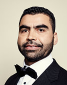 PBS Frontline 'ISIS in Afghanistan' journalist Najibullah Quraishi poses for a portrait at the 75th Annual Peabody Awards Ceremony at Cipriani Wall...