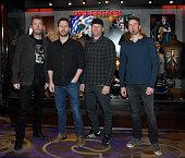 Nickelback Memorabilia Case Dedication At The Hard Rock