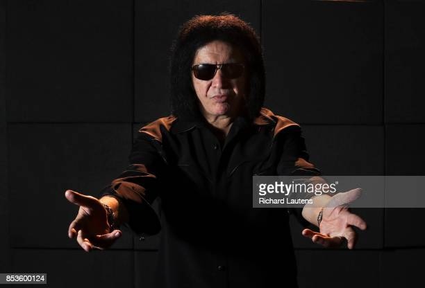 TORONTO ON SEPTEMBER 19 KISS frontman Gene Simmons talks about his latest project a new solo collection titled The Vault that ranges in price from...