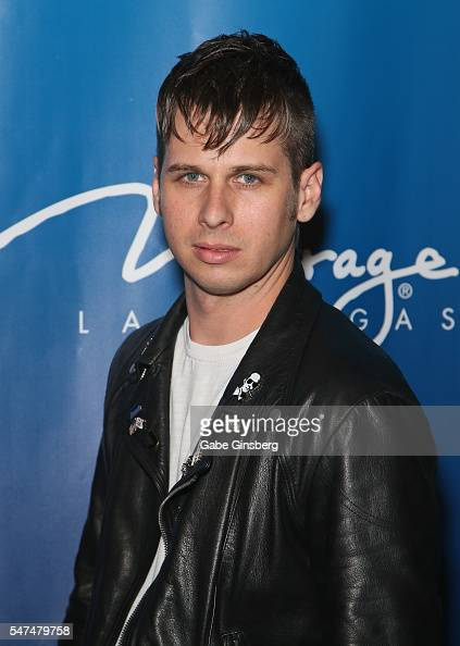 Frontman Mark Foster of Foster The People attends the 10th anniversary celebration of 'The Beatles LOVE by Cirque du Soleil' at The Mirage Hotel...