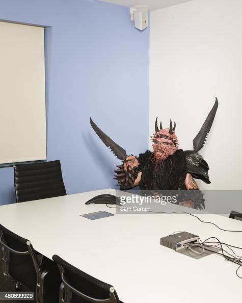 GWAR frontman Oderus Urungus Dave Brockie is photographed for AOL Music on July 1 2009 in Beverly Hills California