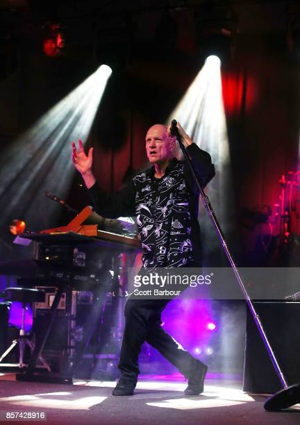 Frontman Peter Garrett from Midnight Oil performs during The Great Circle 2017 World Tour on October 4 2017 in Darwin Australia The Great Circle 2017...