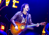 Frontman Tom Higgenson of band Plain White T's performs onstage at Citi Presents Plain White T's at the Grove's 2016 Summer Concert Series at The...