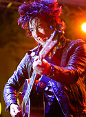 Frontman Tom Higgenson of band PLain White T'sperforms onstage at Citi Presents Plain White T's at the Grove's 2016 Summer Concert Series at The...