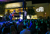 Frontman Tom Higgenson performs onstage at Citi Presents Plain White T's at the Grove's 2016 Summer Concert Series at The Grove on July 6 2016 in Los...