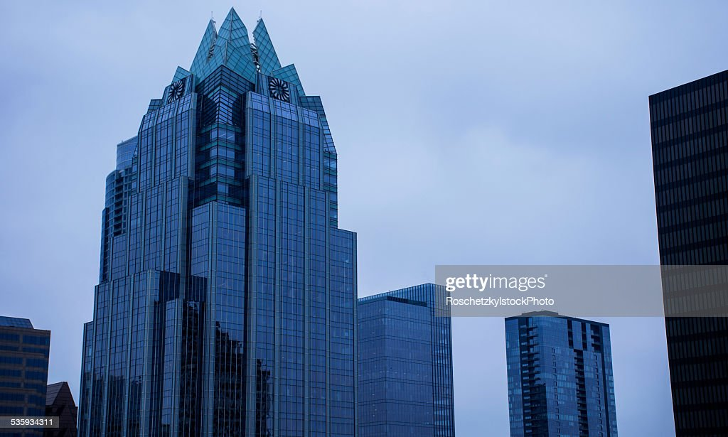 Frost Bank Tower Glass Building Constant : Stock Photo
