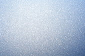 Frost on winter window