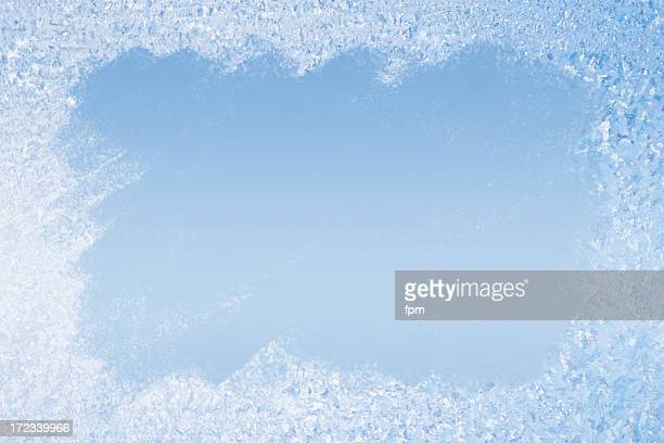 Frost Pattern Background
