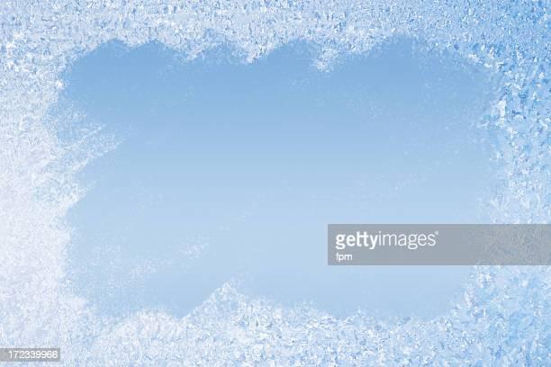 Frost Muster Hintergrund