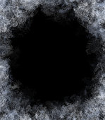 Frost Pattern Background