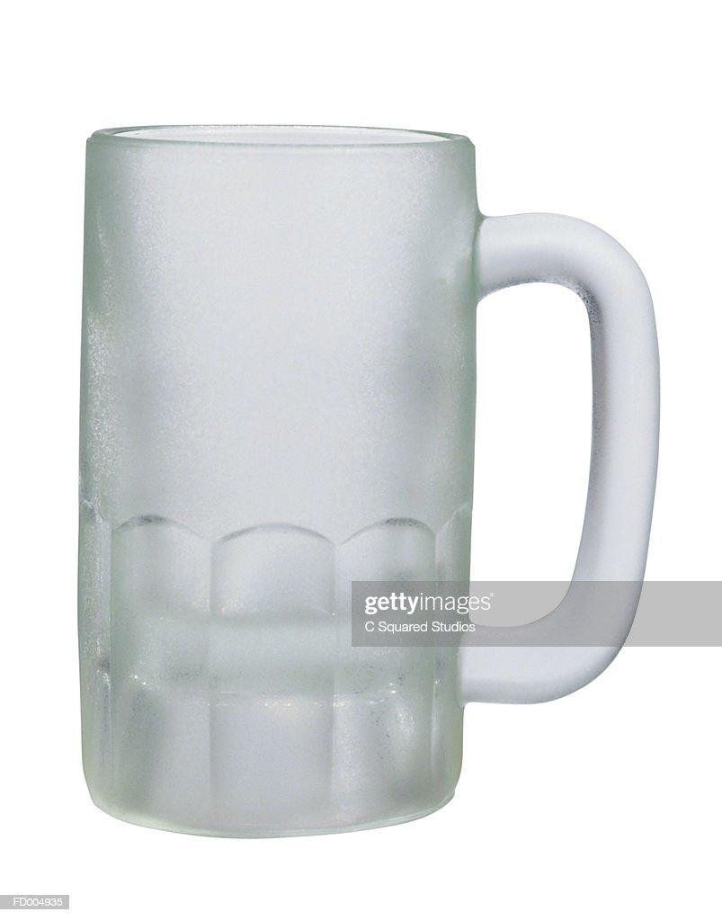 Frosted Mug : Stock Photo