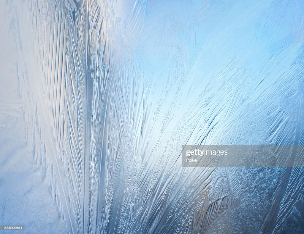 Frosted window : Stock Photo
