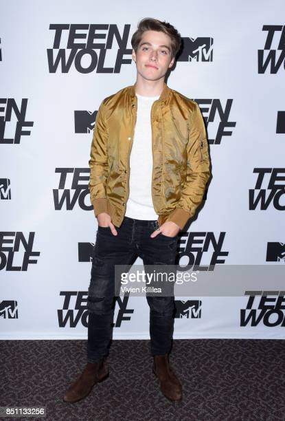 Froy Gutierrez at the MTV Teen Wolf 100th episode screening and series wrap party at DGA Theater on September 21 2017 in Los Angeles California