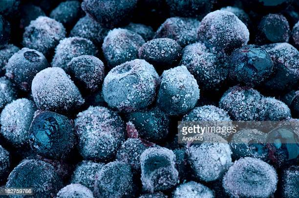 Frozen blueberries