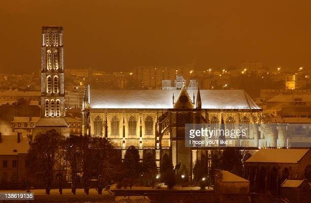 Frozen cathedral at winter
