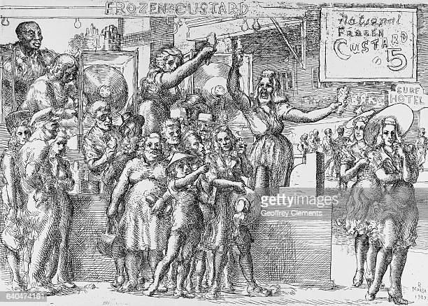 Frozen Custard by Reginald Marsh
