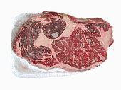 Frozen cut of beef
