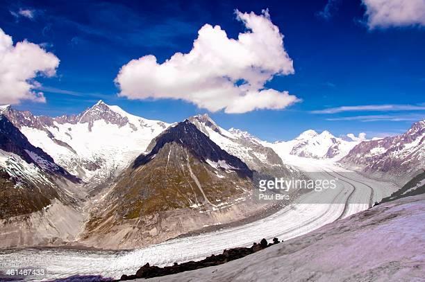 Frozen Flow of Time  Aletsch Glacier