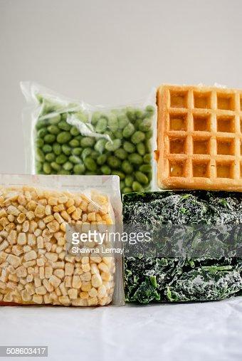 Frozen food : Stock Photo
