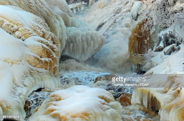 Frozen icefall