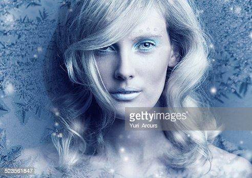 Frozen in her perfection