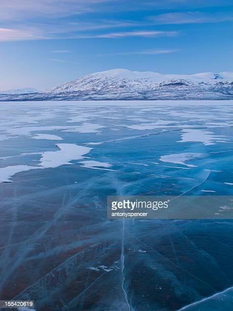 Frozen Lake, Abisko National Park, Sweden