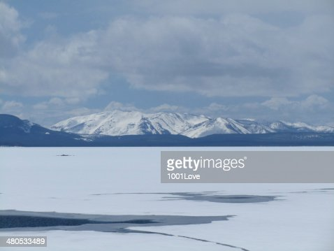 Frozen Lake : Stock Photo